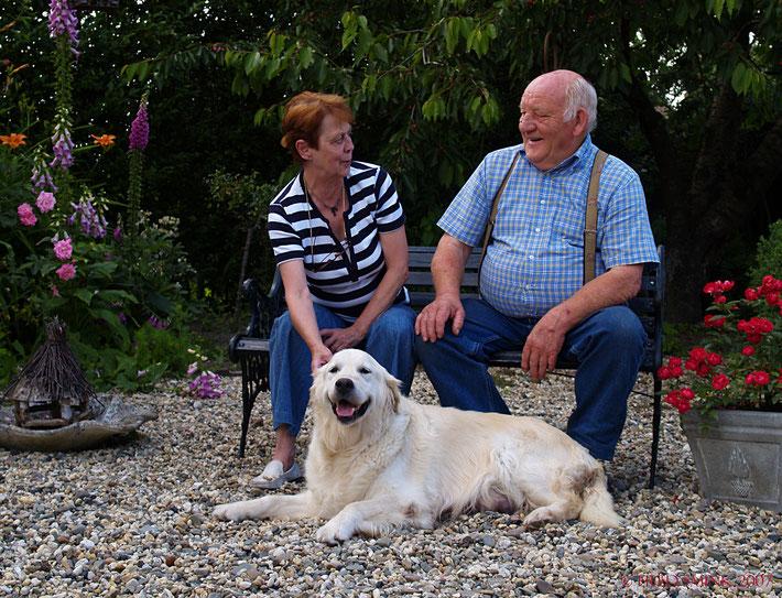 Herma & Jan de Wit samen met CH Xanthous Promise