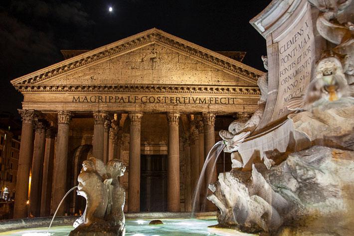 Fassade des Pantheons
