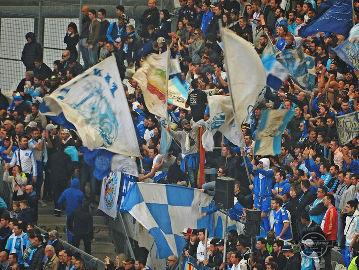 Olympique Marseille vs. AS Saint-Étienne - Stade Velodrome