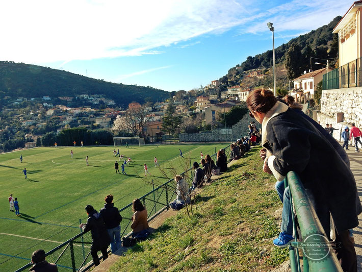 AS Monaco vs. Mougins Cote DAzur, Stade Jean Favre
