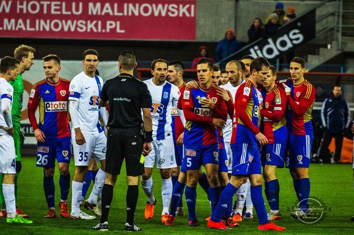 Piast Gliwice Lech Poznan Ekstraklasa futbol BATE Borisov