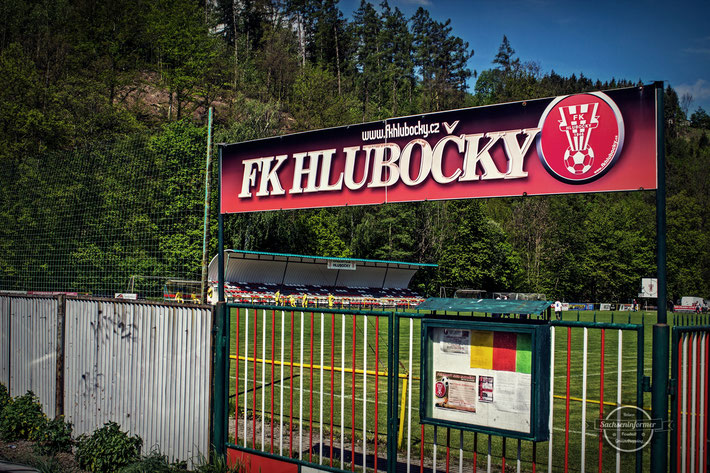 FK Hlubočky - futbalový štadión Hlubočky