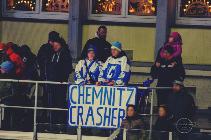 Chemnitz Crashers EHC Berlin Blues Eissporthalle Küchwald