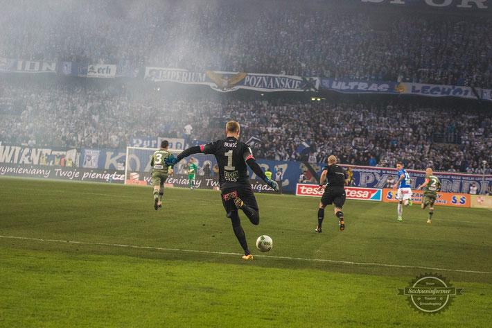 KKS Lech Poznan vs. KP Legia Warszawa - INEA Stadion