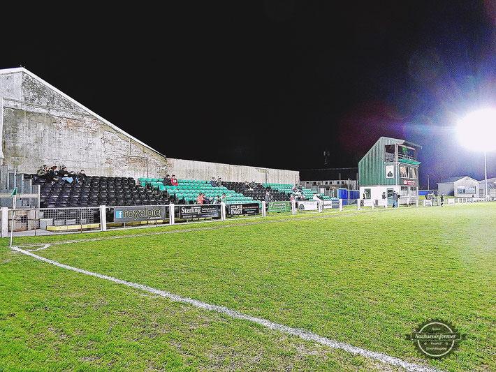Aberystwyth Town FC vs. Rhyl FC - Park Avenue Ground