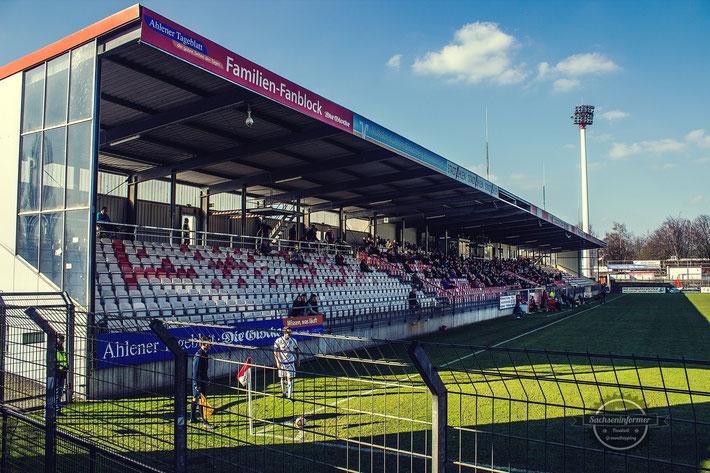 'Rot-Weiss Ahlen vs. SC Wiedenbrück - Wersestadion