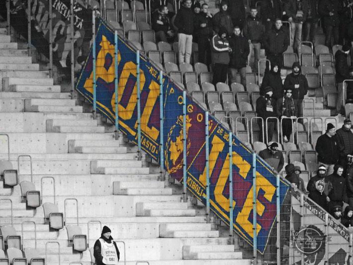 Pyro Ultras MKS Zaglebie Lubin vs. MKS Pogon Szczeczin - Stadion Zaglebia Lubin