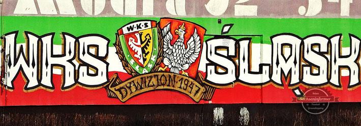 Pyro Ultras WKS Slask Wroclaw vs. MKS Zaglebie Lubin - Stadion Miejski Wroclaw