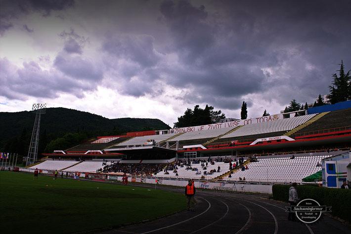 HSK Zrinjski Mostar - Stadion Pod Bijelim Brijegom