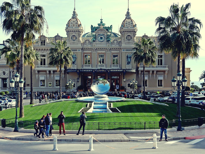Monaco Sightseeing - Stand & Stadt