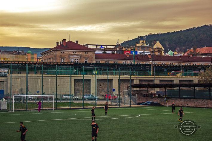 FK JUNIOR Děčín - Mestsky Stadion