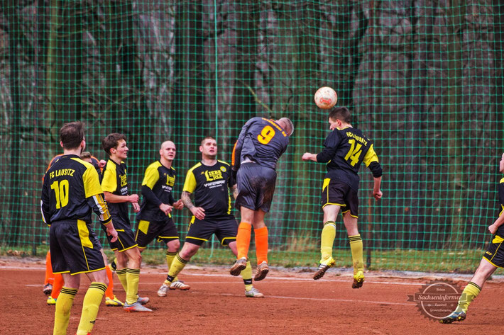 Thonberger SC 1931 II vs. FC Lausitz Hoyerswerda II Pyro Ultras