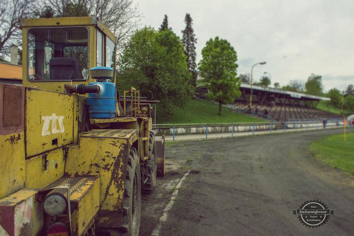 TJ Spartak Hluk - Mestský štadión