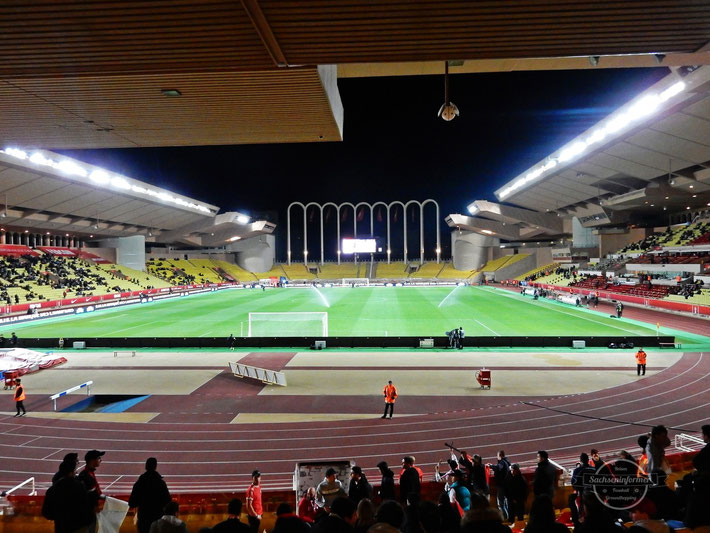 AS Monaco vs. ES Troyes AC - Stade Louis II