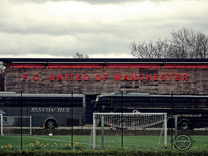 FC United of Manchester vs. Chroley FC - Broadhurst Park
