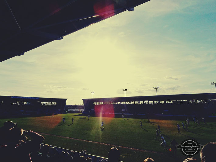 Shrewsbury Town FC vs. Port Vale FC - Greenhous Meadow