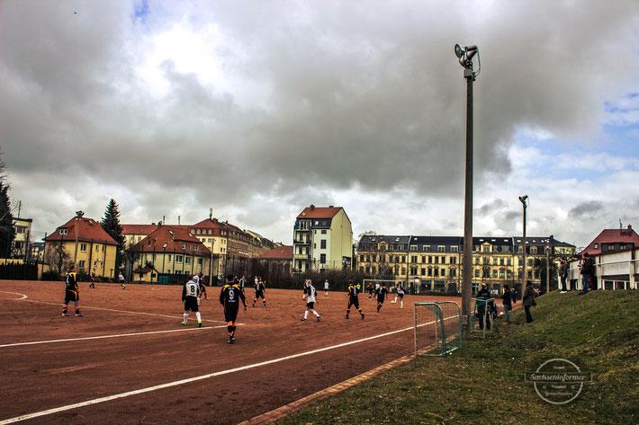 VfB 90 Dresden vs. TSV Rotation Dresden - Stadion Eisenberger Straße - Platz 2