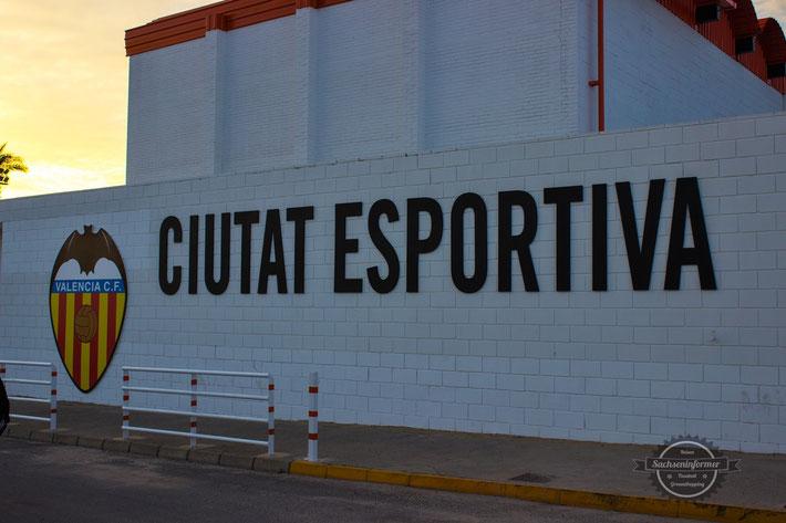 Ciutat Esportiva Antonio Puchades Valencia CF Castilla FC Barcelona Fussball Groundhopping