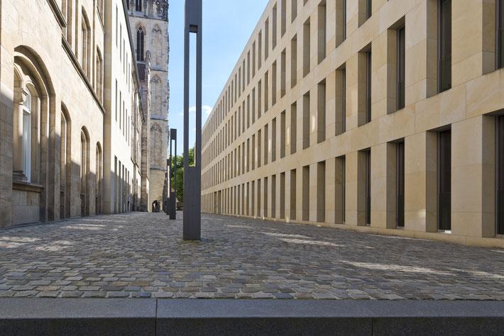 Neue Diözesanbibliothek des schweizer Architekten Max Dudler, Münster 2005