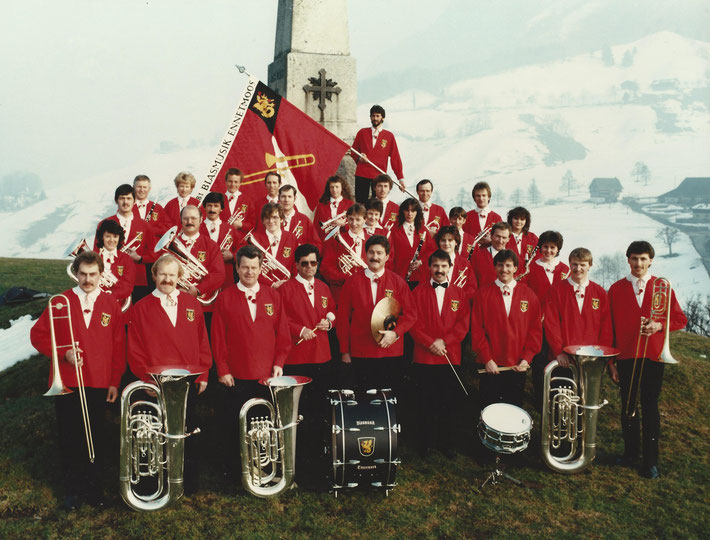 10-Jähriges Jubiläum/Instrumentenweihe 1986, Allweg Denkmal