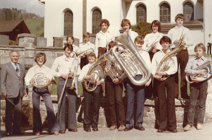 Ständli Weisser Sonntag Jungmusikanten 1979, St. Jakob