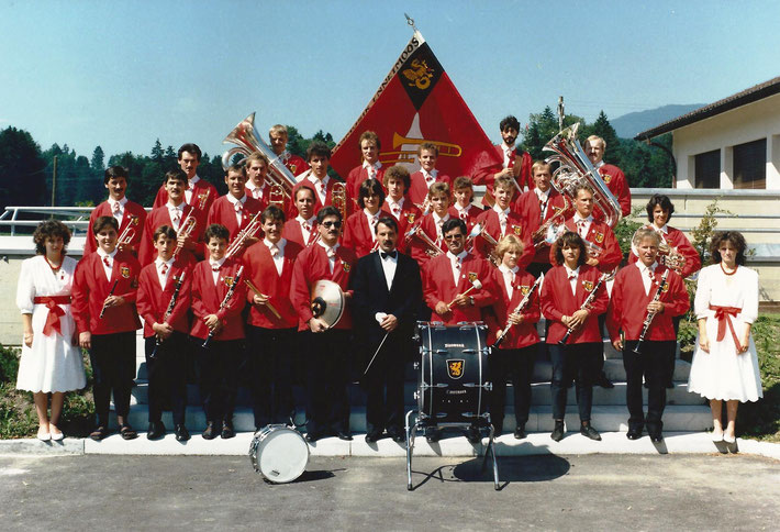 10-Jähriges Jubiläum/Instrumentenweihe 1986, St. Jakob