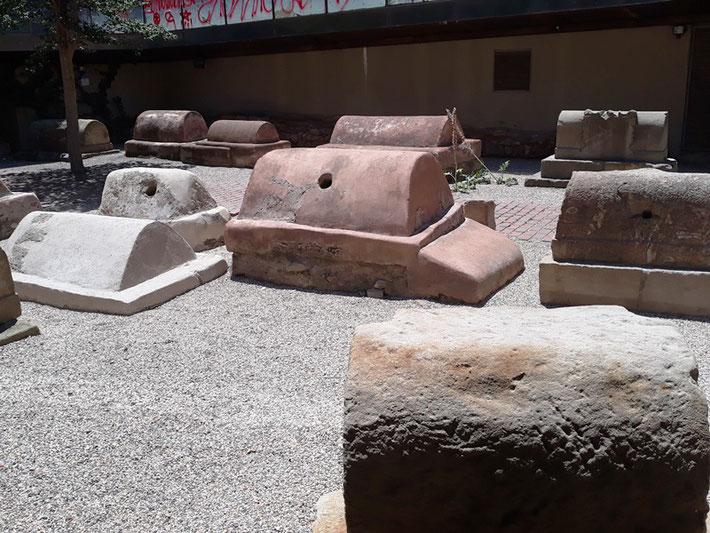 Римский некрополь в Барселоне