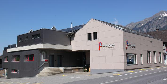 Unser Firmengebäude an der Hauptstrasse 236 in Brienz
