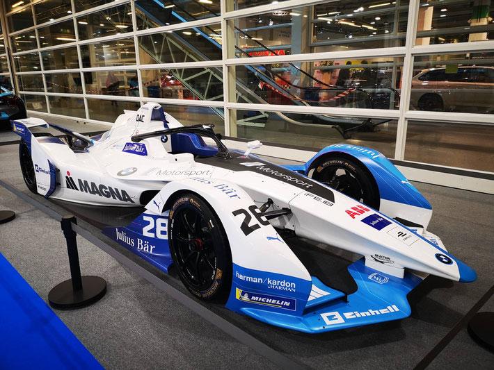 Elektromobilität geht auch schnell: Die Formel E