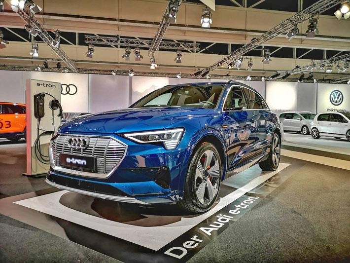 Audi e-tron - in der Schweiz ab Frühling 2019 erhältlich