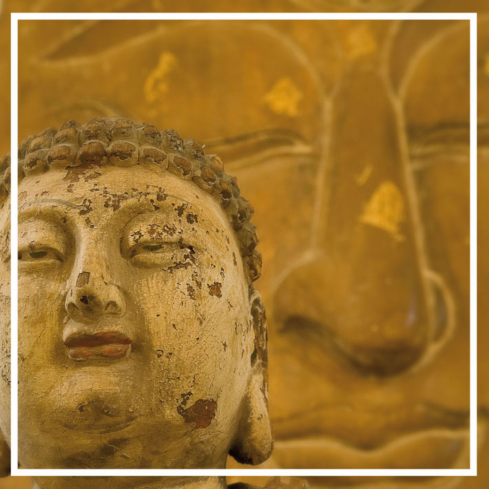 Antike Buddhastatuen aus Burma - Myanmar