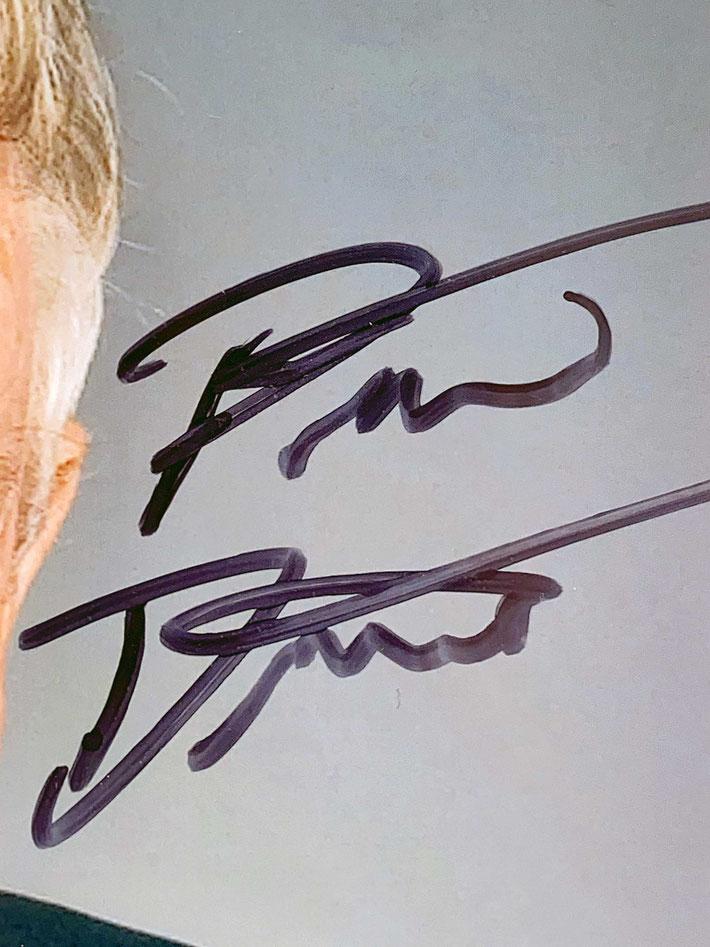 Autograph Peter Doherty Autogramm