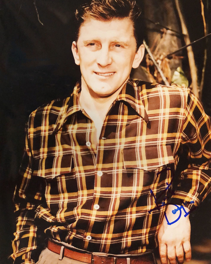 Autograph Kirk Douglas Autogramm