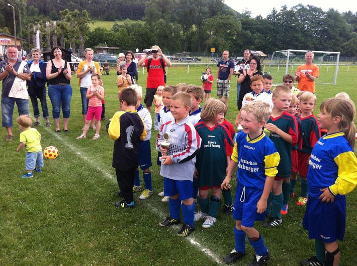 Bambini Turnier in Untermaßfeld  2013