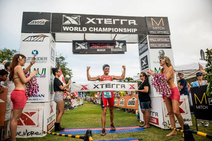Javier guanya Xterra, campioníssim enhorabona