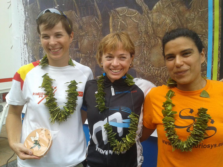 Podium Tritarongina Femení