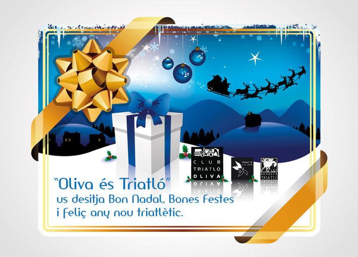 Bon Nadal Club Triatló Oliva