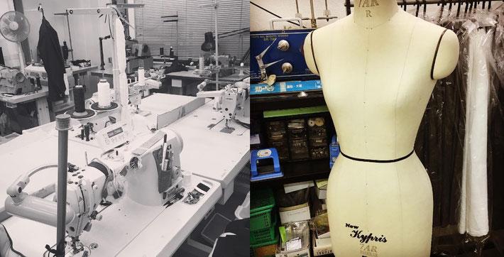 提携アトリエ(大手プレタポルテの縫製を手掛ける日本老舗アトリエと提携開始)