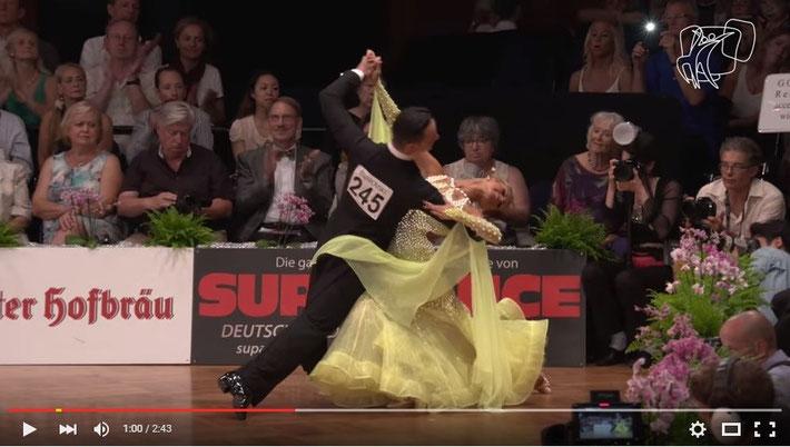 優勝Segatori - Sudol,ドイツ  ワルツ
