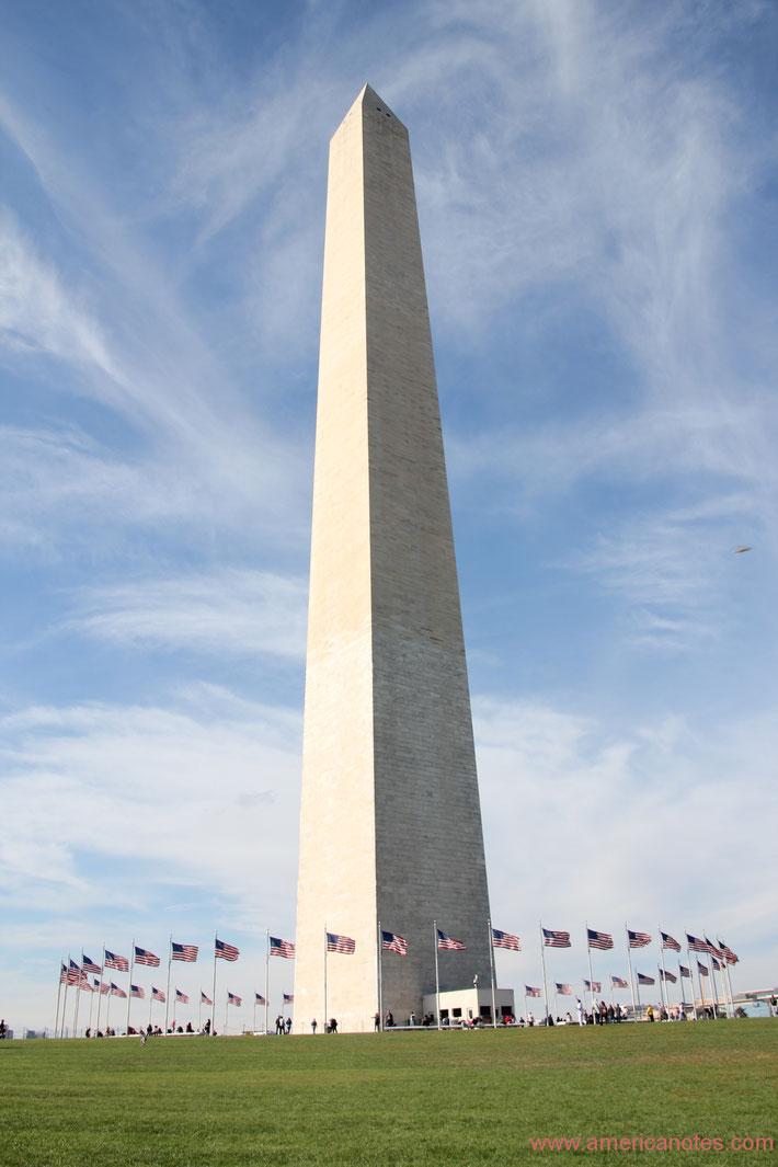 Die besten Sehenswürdigkeiten und Reisetipps für Washington D.C. Washington Monument.