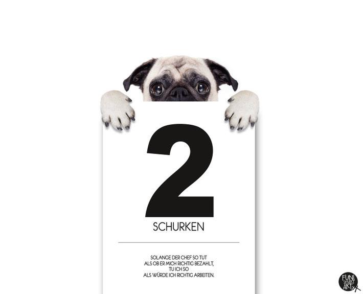 """FUNI SMART ART, BüroPrint, Poster, Motiv """"2 Schurken."""""""