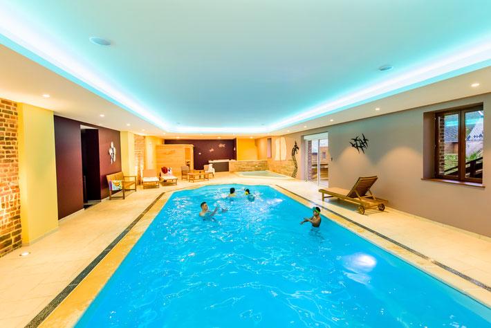 Les Lavandières de Fontaine- espace piscine - Aisne - Picardie