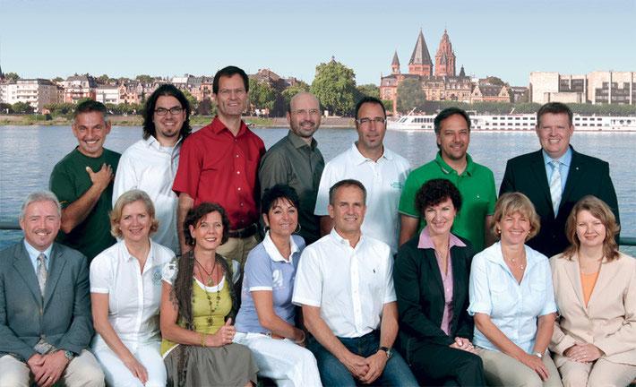 Gruppenphtoto Netzwerk-NeU-Mitglieder Mainz
