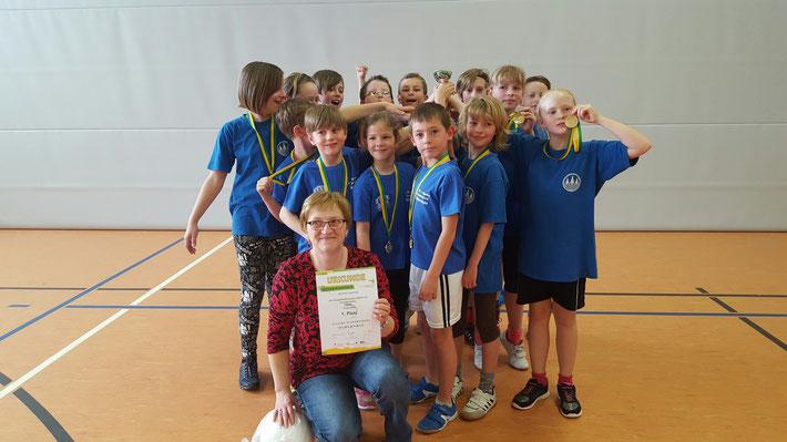 Platz 1 - Goethe-GS Olbernhau