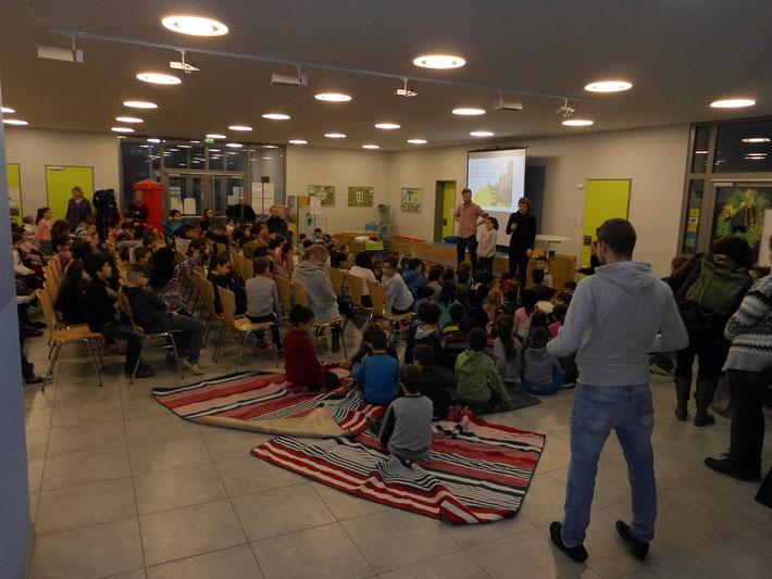 Unsere zweisprachige Lesung für die E-Klassen