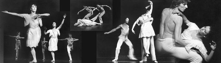 Susanne Linke Arbeiten aus der Fruehphase Puppe 1977 Fotomontage Heidemarie Franz