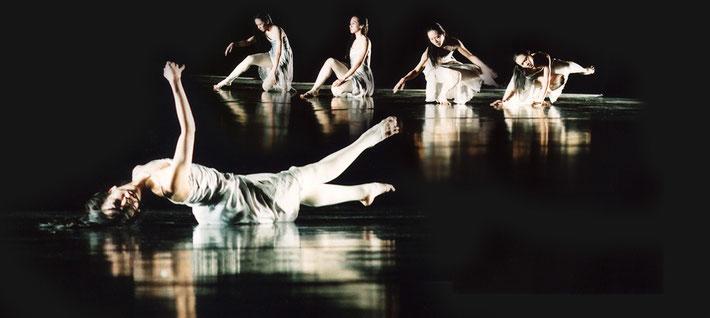 Susanne Linke Wandlung Wiederaufnahme 2007 Fotomontage Heidemarie Franz