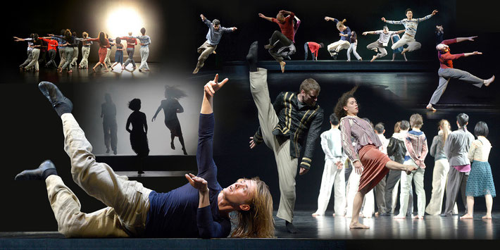 """Nemmokna"" - Choreografie: Susanne Linke; Fotos: Bettina Stoess; Fotomontage: Artwork3"