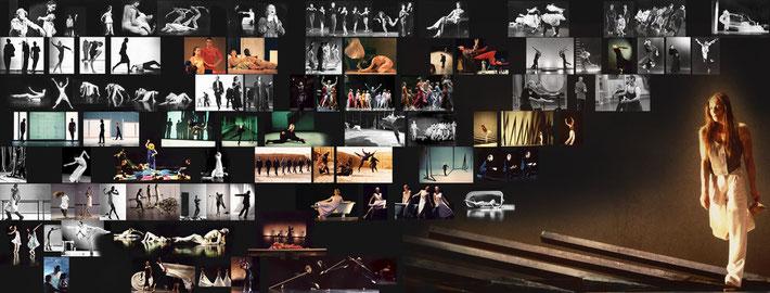 Susanne Linke_Choreographien_Bildmontage/Heidemarie Franz