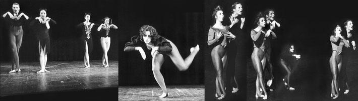 Susanne Linke Histoire obscure Wiederaufnahme 1978 Fotomontage Heidemarie Franz
